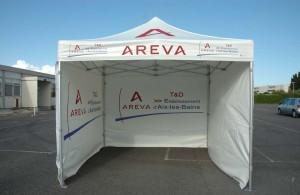 galerie - areva - tente pliante barnum