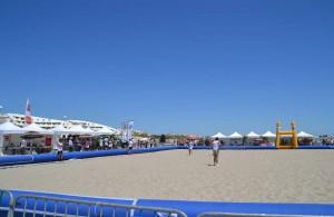 Galerie - beach rugby tour - tente pliante barnum