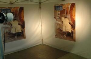 Galerie - tente pliante barnum