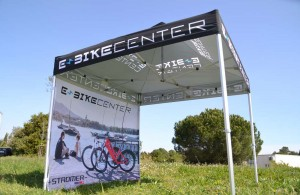 Galerie e-bike - tente pliante barnum