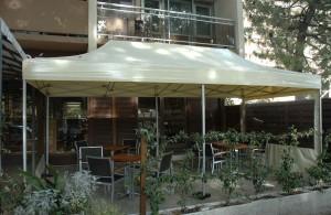 galerie - terrasse - barnum pliant