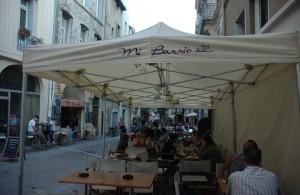 galerie - mi barrio montpellier - tente pliante