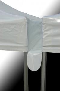 modularité - gouttière pour tente pliable