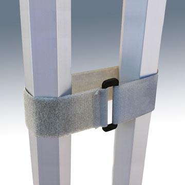 Collier souple pour relier stand