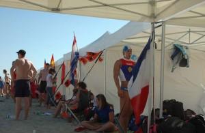 Galerie - championnat européen de sauvetage - tent epliante barnum