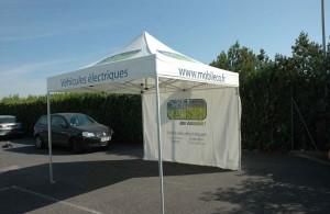 galerie - eco-mobile - tente pliante barnum