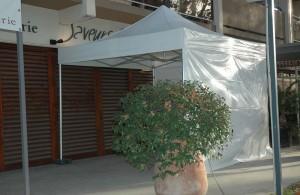 Galerie - jardin des sens montpellier - tente pliante barnum