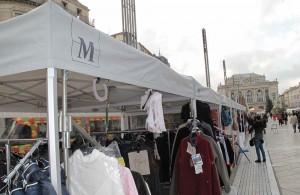 galerie - marché comédie montpellier - tente pliante barnum