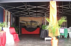 galerie - réception - tente pliante barnum