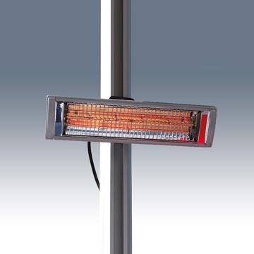 tente pliante V2 - chauffage radiant pour tente pliante
