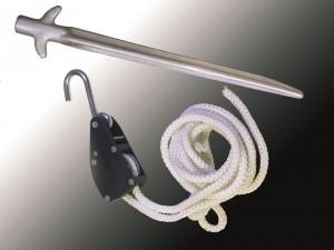 Kit ratchet pour tente pliable